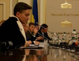 Савченко принесла на комитет гранаты и предложила метнуть их в Луценко