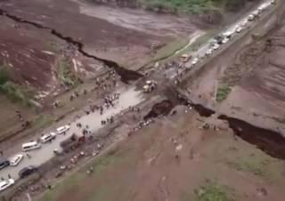 Геологи обнаружили разлом, который расколет Африку на две части