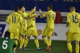 Сборная Украины по футболу опозорилась в матче с Саудовской Аравией
