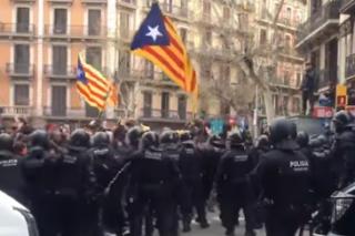 Во время беспорядков в Каталонии пострадали почти 100 человек