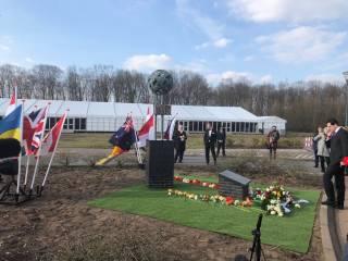 В Нидерландах открыли монумент жертвам упавшего на Донбассе самолета