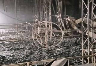 Появилось видео из сгоревшего центра в Кемерово. В сетях говорят, что при строительстве не обошлось без кумовства