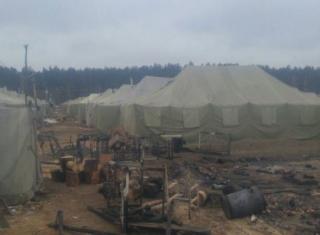 На Черниговщине в воинской части произошел пожар