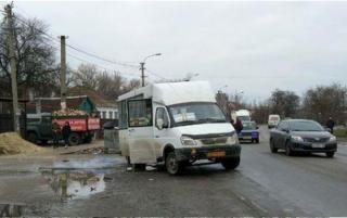 В Днепре в маршрутке на ходу сорвало кран газового баллона