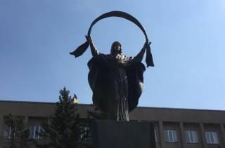 В Кривом Роге открыли памятник Покрову Пресвятой Богородицы. На месте, где раньше стоял Ленин