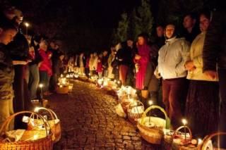 В пасхальных богослужениях приняли участие без малого 7 млн украинцев