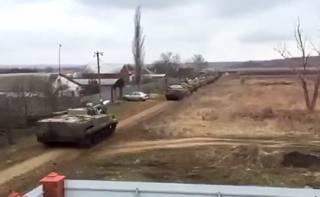 Накануне Пасхи Россия стянула военную технику к границе Украины, – СМИ