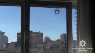 В киевском спальнике мужчина обстреливал окна соседей. Видимо, ради развлечения