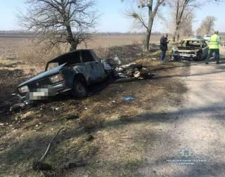 На Киевщине совершен дерзкий налет на автомобиль «Укрпочты», который перевозил деньги для пенсионеров