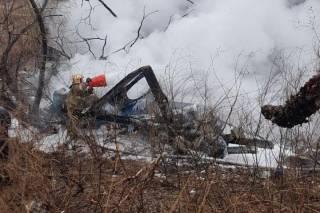 В Хабаровске рухнул вертолет МИ-8. Погибли все, кто был на борту