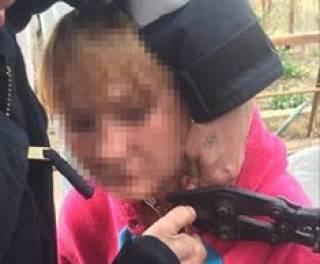 В Одессе неизвестный преступник посадил женщину на цепь