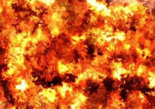 В николаевском автосалоне прогремел мощный взрыв