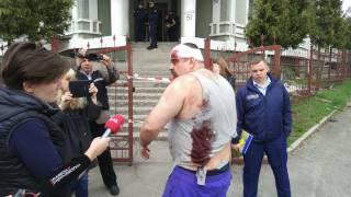 В Киеве стычка у «конфликтного» общежития переросла в стрельбу