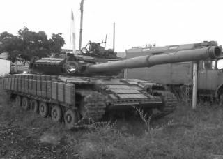 Оборона артемовской базы — дебют танков боевиков