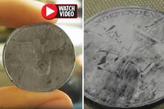 В Мексике нашли монету из будущего