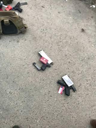 В Одессе на автостоянке стреляли. Есть пострадавшие
