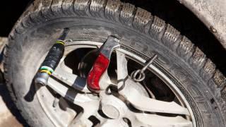 В Киеве неизвестный «атошник» терроризирует водителей, требуя денег