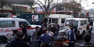 В Афганистане совершен теракт. Около 60 погибших