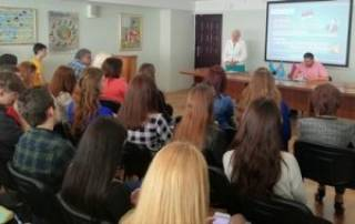 В Киевском международном университете прошла лекция на тему Геноцида армян