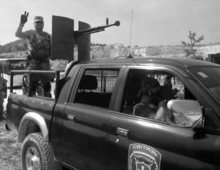«Тачанки» донбасской войны