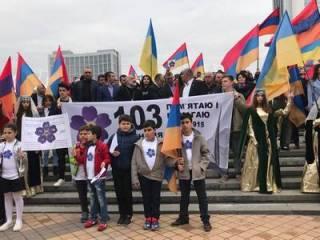 В Украине прошли мероприятия, приуроченные к 103-й годовщине Геноцида армян