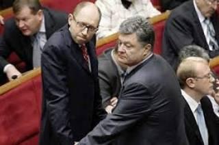 Рейтинг Порошенко упал до уровня Яценюка
