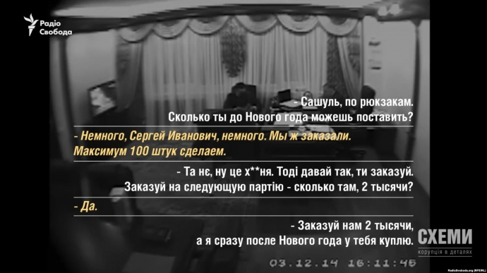 Милиция уничтожила подтверждения поделу о«рюкзаках Авакова»