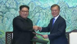 Северная и Южная Корея договорились закончить войну, длившуюся без малого 70 лет