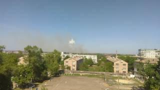На складах боеприпасов в Балаклее снова слышны взрывы. Проходит эвакуация людей