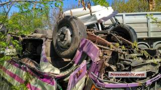 На Николаевщине произошло крупное ДТП с участием микроавтобуса ВСУ