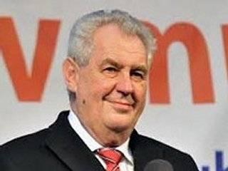 Земан подтвердил, что Чехия производила «Новичок»