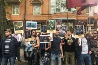 В ходе празднования Дня Победы в Киеве задержаны более 20 человек