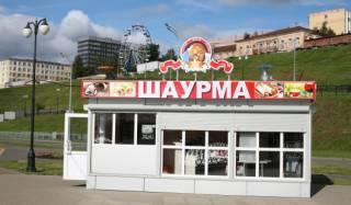 В Одессе снесли ларек, в котором 13 человек отравились шаурмой
