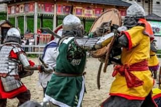 Под Киевом пройдут настоящие средневековые бои с применением мечей и алебард