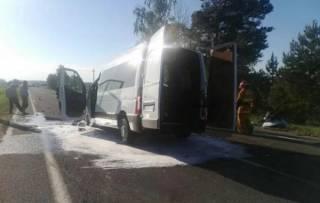 В Беларуси задержали украинца, бывшего за рулем автобуса, который попал в жуткое ДТП