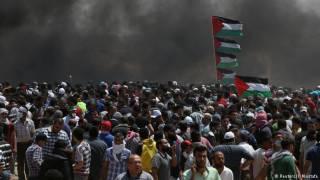 Столкновения из-за посольства США в Иерусалиме: стрельба, газ и десятки погибших
