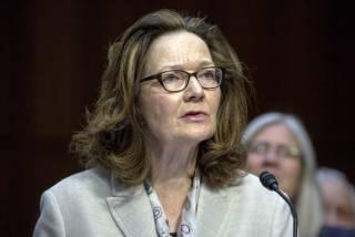 ЦРУ впервые возглавила женщина. Ранее ее обвиняли в применении пыток