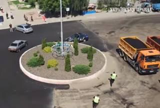 Пользователи соцсетей высмеяли действия полиции во время странной погони на Киевщине