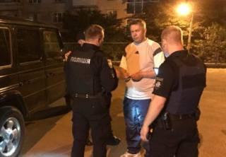 Киевские полицейские задержали пьяного экс-нардепа на Mercedes, – СМИ