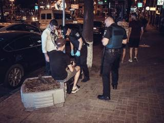 В центре Киева случилась еще одна драка с фанатами «Ливерпуля». Англичане были пьяны