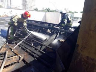 Пожарные рассказали, как тушили кинотеатр «Экран». Здание горело 2,5 часа