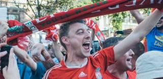 Финал Лиги чемпионов в Киеве посетили 30,5 тысяч болельщиков, а фанаты «Ливерпуля» спали прямо на полу вокзала