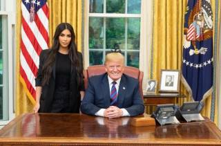 Трамп поговорил с Ким Кардашьян о проблемах пенитенциарной системы