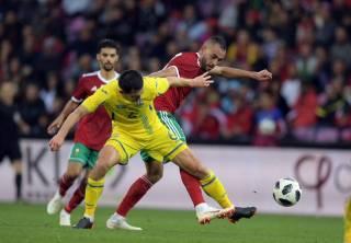 Сборная Украины по футболу протестировала участника Чемпионата мира