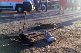 В Запорожье стритрейсер на BMW насмерть сбил мать и ее дочь-пятилетку