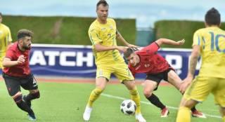 Сборная Украины по футболу поиздевалась над албанцами