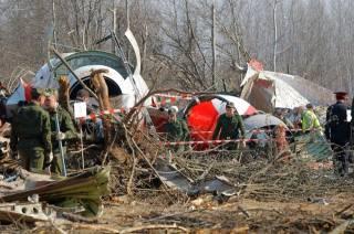 Поляки нашли следы взрывчатки на разбившемся под Смоленском Ту-154. Но в почве на месте крушения их не было