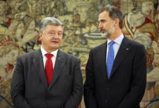 Исторический визит Порошенко в Испанию влетел в копеечку