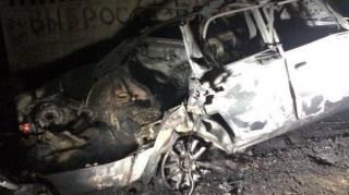 Под Одессой взлетел на воздух автомобиль. Есть пострадавшие