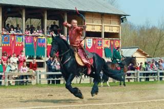 Под Киевом пройдет фестиваль конных боевых искусств «Скифы»